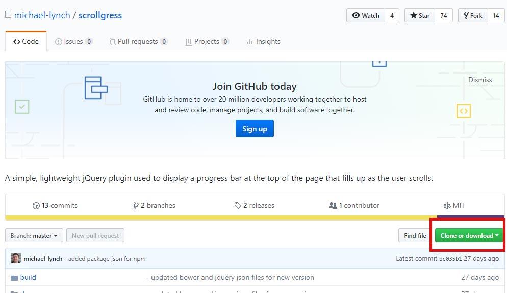 【jQuery】スクロール量でナビゲーションバーを実装するScrollgress